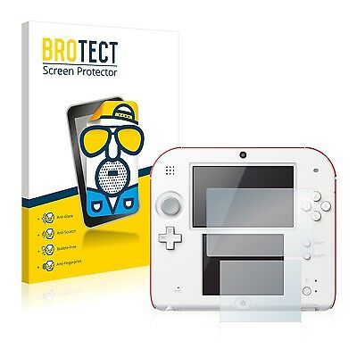 2x BROTECT Matte Screen Protector for Nintendo 2DS Protection Film