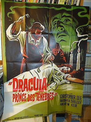 HAMMER/DRACULA PRINCE OF DARKNESS/ french poster