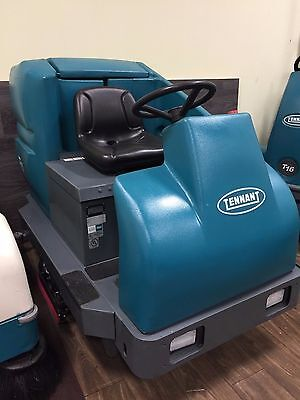 "REFURBISHED Tennant T15 Battery Powered 36"" Cylindrical Rider Scrubber"