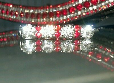 Child's Bling crystal diamante dressage Stock Pins various colours.