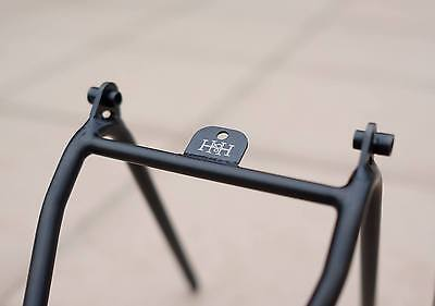 Brompton Titanium Limited Black Nitriding Processed Full Size Rear Rack (H&H)