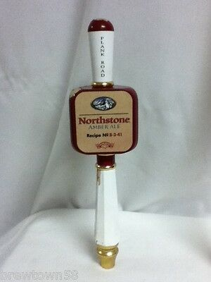 Northstone Amber Ale beer tapper handle Miller brewery taps taps knob pull H4