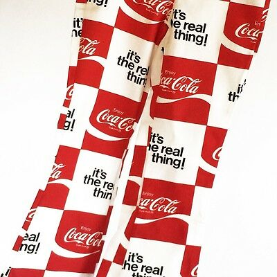 1970s Coca-Cola It's The Real Thing Draw String Bell Bottoms