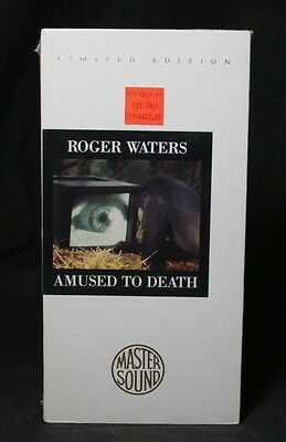 Roger Waters of Pink Floyd - Amused To Death - Limited Edition by Master Sound