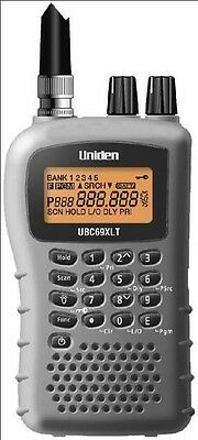 Uniden UBC69XLT 80 Channel Handheld Scanner Receiver