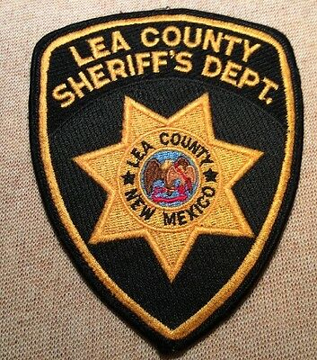 NM Lea County New Mexico Sheriff Patch