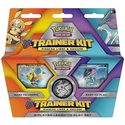 Pokemon Trading Card Game Xy Trainer Kit Pikachu Libre And Suicune 2016
