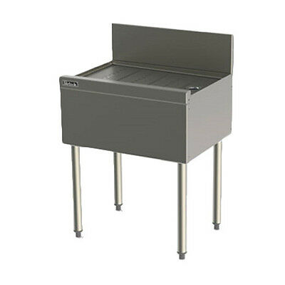 """Perlick TS48 48"""" Underbar Drainboard With Embossed Top"""