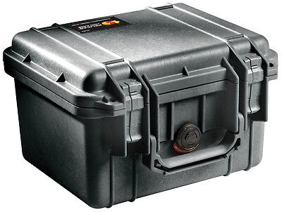 Used Pelican 1300 Case with No Foam Insert, Black