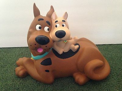 "Scooby Doo & Scrappy Pvc Vinyl Bank 8"" X 11.5"" Figure Figurine"
