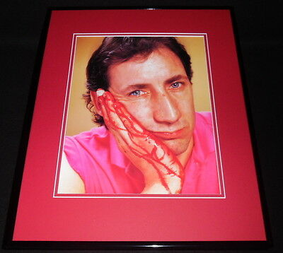 Pete Townshend The Who Bloody Hands Framed 11x14 Photo Poster