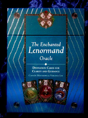 THE ENCHANTED LENORMAND ORACLE. Divination Cards. Tarot
