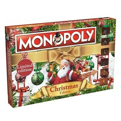 Christmas Monopoly Limited Edition Brand New Game To Play