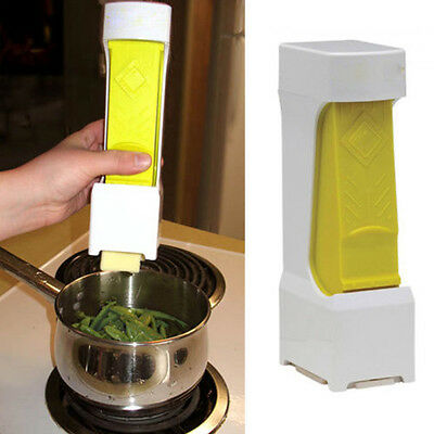 Creative Kitchen Butter Cheese Cutter Slices One Click Squeeze Serves Store Tool