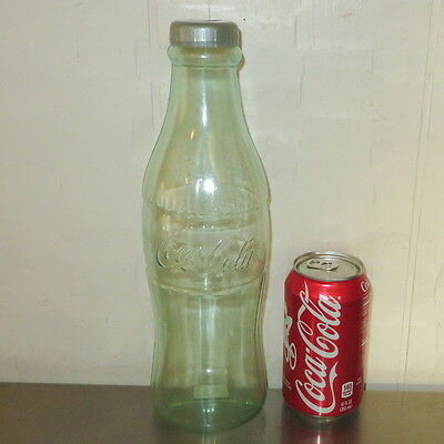 """Coca Cola Bottle Bank 12"""" tall ~ NEW"""