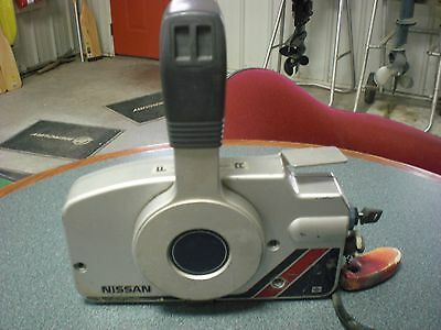 Used Freshwater Nissan Tohatsu Side Mount Control Box With Harness And Key