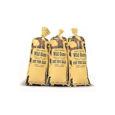 Wild Game Cameo Meat Bag 2Lb Capacity Packed 50 Per Box Free Shipping