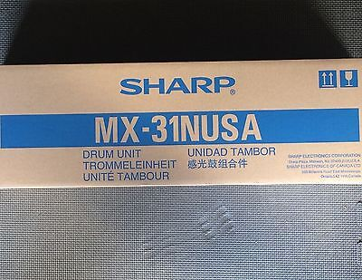 Genuine Sharp Drum Unit MX-31NUSA MX31NUSA MX-2600N MX-3100N MX-4101N MX-5001N