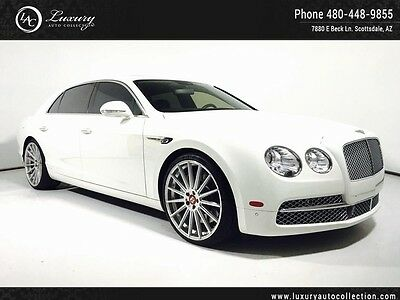 2015 Bentley Continental Flying Spur  Rear Camera_Contrast Stitching_22 Wheels_Emblems_Comfort_Tech
