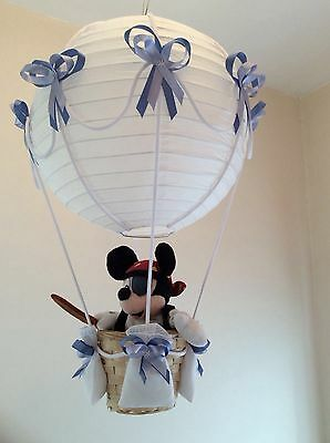 Hot Air Balloon Lamp light shade With Mickey Mouse pirate