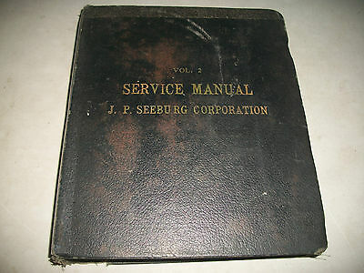 J.P. SEEBURG VINTAGE JUKEBOX's SERVICE AND REPAIR MANUAL  60's-70's CMYSTOR4MOR