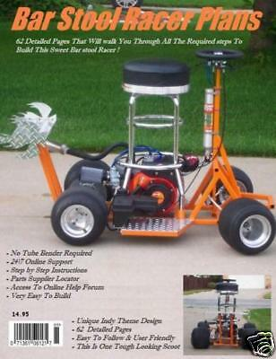 Pro Street Bar Stool Racer Plans & Mini Bike Plans
