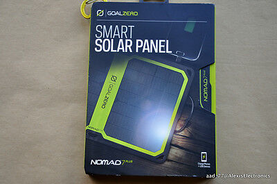 New Goalzero Nomad 7 Plus Solar Panel For Phones + Usb Devices Fast Free Shippin