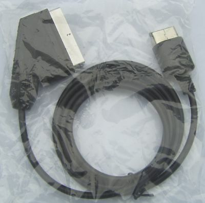 RGB Scart AV Cable/Lead For Sega Dreamcast Games Console *True RGB Picture* NEW