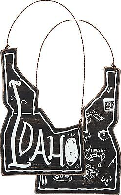 IDAHO Primitives by Kathy State Series Christmas Ornament