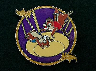 Disney LE 250 Trading Pin Chip & Dale Trapeze Circus *Production Proof* 92035