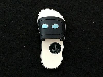 Disney Trading Pin - Pixar Wall-E & Eve EVE Only Flip Flop Free-D Rubber 110128