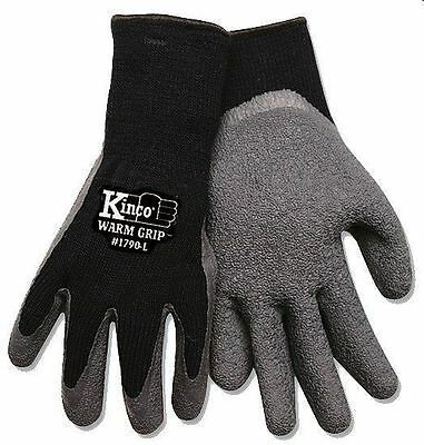 Kinco® Warm Grip Knit Gloves Thermal LARGE # 1790