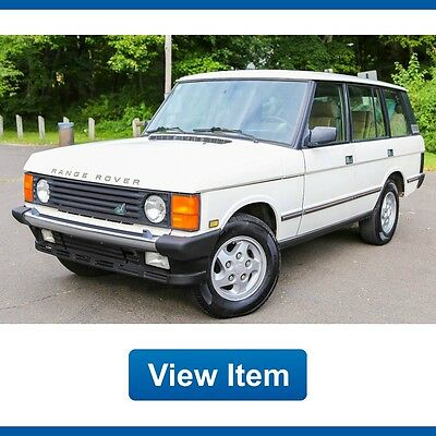1994 Land Rover Range Rover County LWB Sport Utility 4-Door 1994 Land Rover Range Rover Country LWB LOADED Rare 4x4 Serviced Southern CARFAX