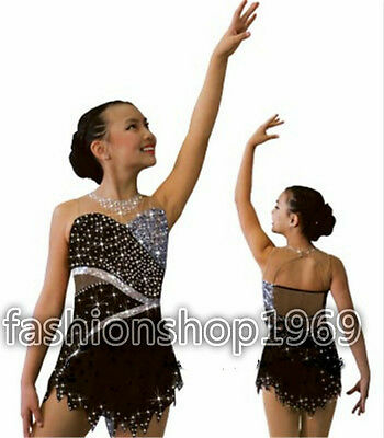 2016 New Ice Figure Skating Dress  Baton Twirling Dress For Competitio