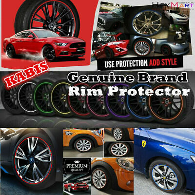 Genuine Brand Kabis Rimblades Wheel Rim Protector Rim Trim Stripe Guard in Red