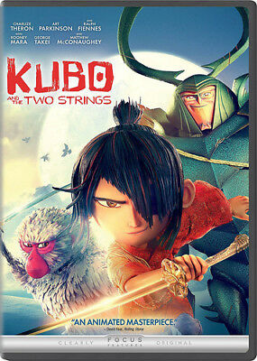 Kubo And The Two Strings [New DVD] Slipsleeve Packaging, Snap Case