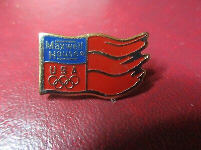 Maxwell House Olympic Pin
