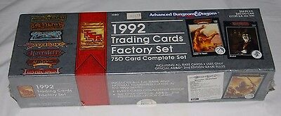 1992 Advanced Dungeons and Dragons 2nd ed. Sealed Factory Set