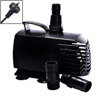 Biopro Aquarium Submersible Aqua Fountain Pond Inline Water Pump 1500lph