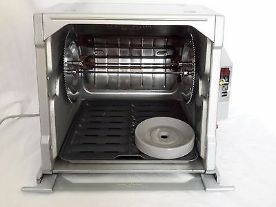Ronco Showtime 5000 Digital Rotisserie & BBQ Oven Platinum Edition