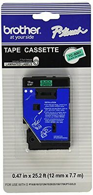 Brother 1/2INCH BLK ON GREEN P-TOUCH TC8001 Blank Floppy Disk