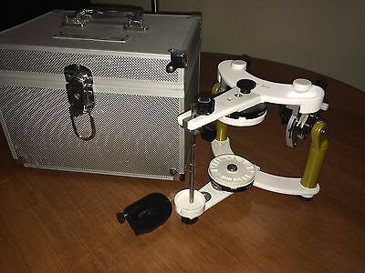 Ivoclar Vivadent Stratos 300 Articulator Carry Case Mounting rings