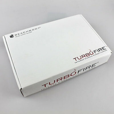 New TURBO FlRE Workout 15 DVDs Cardio Conditioning Set Guides Base Kit Sealed