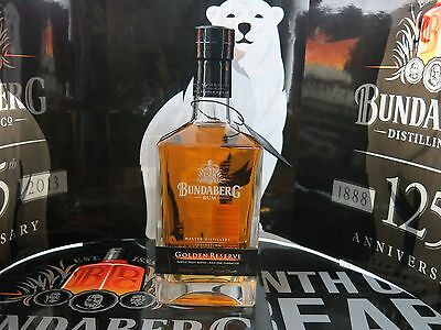 Bundaberg Rum Master Distillers Golden Reserve Number Um4409 Sealed With Tag