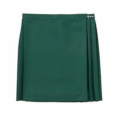 "GYMPHLEX Girls/Ladies BOTTLE GREEN School Gym Kilt/Skirt W27-30"" 13+ yrs- NEW!"