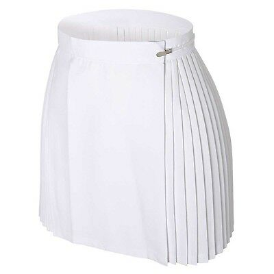 "GYMPHLEX Girls/Ladies WHITE Sports Kilt/Skirt W30"" 14+ yrs- NEW!"