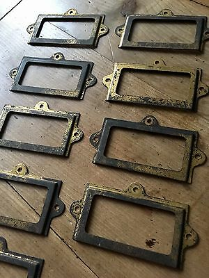 Reclaimed Cupboard Frame Card Holder Vintage Antique X9