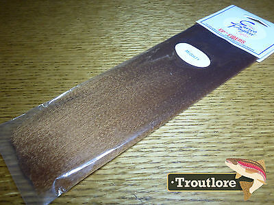Ep Mighty Fibers Brown Enrico Puglisi - New Fly Tying Wing & Body Material