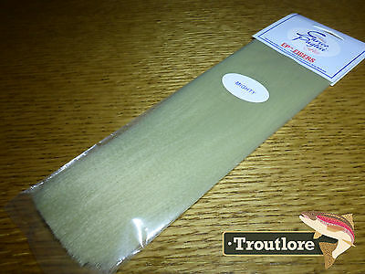 Ep Mighty Fibers Light Olive Enrico Puglisi - New Fly Tying Wing & Body Material