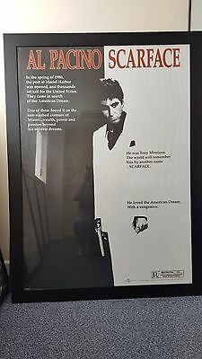 Scarface Al Pacino Giant Framed Film Poster